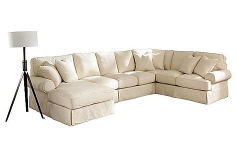 ashley furniture sectional slipcovers the kinning linen sectional from ashley furniture