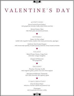 s day dinner menu ideas 1000 images about s on valentines
