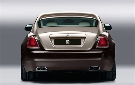 rolls royce rear 2014 rolls royce wraith exterior rear view eurocar news