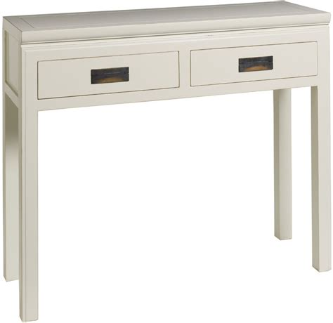 white lacquer desk with drawers hanoi white lacquer oriental console with 2 drawers