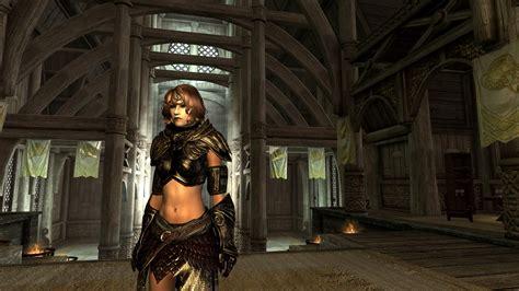 skyrim male revealing armor mod revealing black elven armor at skyrim nexus mods and