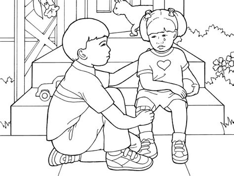 lds coloring pages kindness lds service black and white clipart clipart suggest