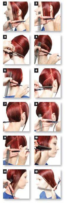 step by step instructions for trimming hair 1000 images about hair cuttery on pinterest medium
