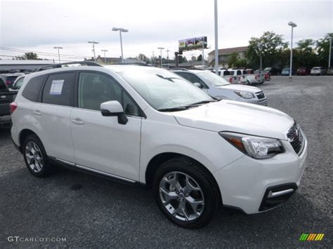 subaru forester 2017 colors 2017 crystal white pearl subaru forester 2 5i touring