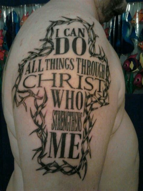 cross tattoo philippians 4 13 1000 images about tattoos on pinterest first tattoo