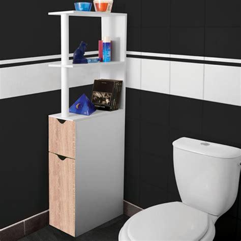 Petit Meuble Pour Wc by Meuble Wc 233 Tag 232 Re Bois Gain De Place Pour Toilette 2