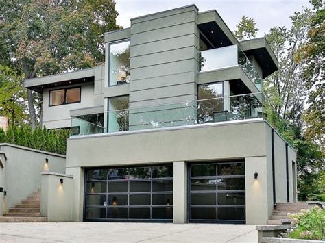 six cool and contemporary house exteriors toronto and 3 million for a modern retreat in birchcliff