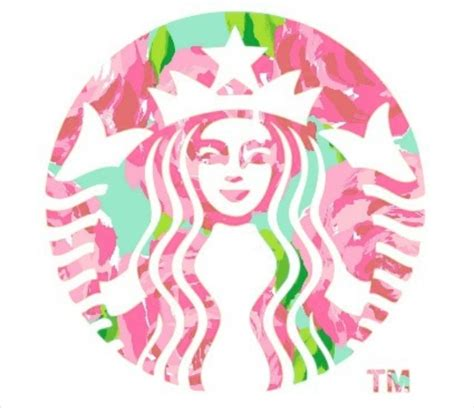 lilly starbucks lilly print starbucks oooooo pretty pinterest