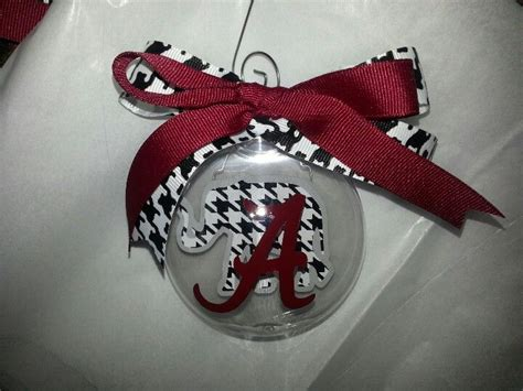 alabama ornament alabama crimson tide pinterest
