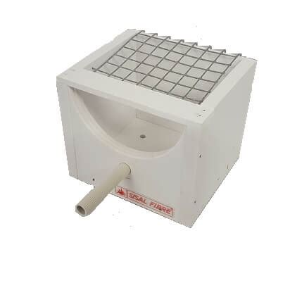 exotic finch nest box with mesh lid pvc plastic planet