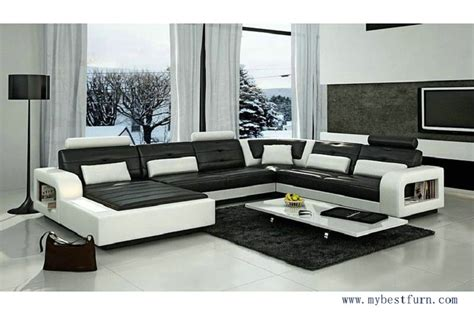 Modern Style Sofas My Bestfurn Sofa Modern Design Luxury Style Sofa Set With Bookshelf Fashion And