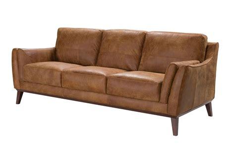 light brown leather sofa durante contemporary top grain leather sofa in