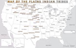 indian tribes of map plains americans twenty tens take on americans