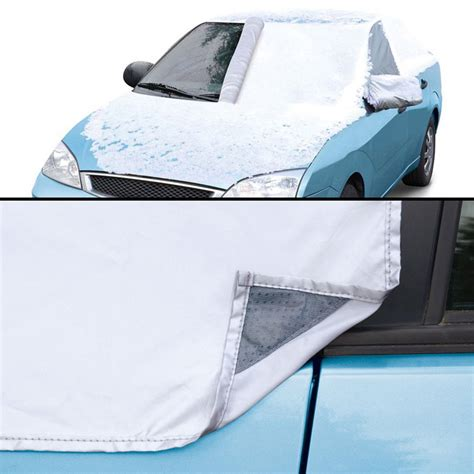 magnetic window covers attach magnetic windshield snow cover the green