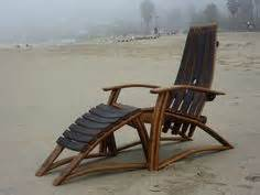 wine barrel rocking chair australia what to do with wine barrel staves how about an easel