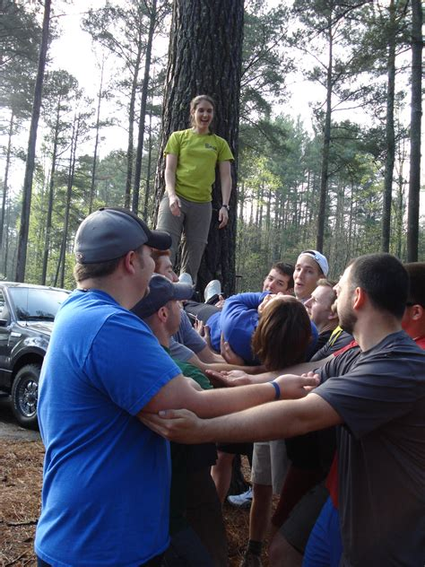Teamwork Exercise Mba by Learn Teamwork On The Ropes