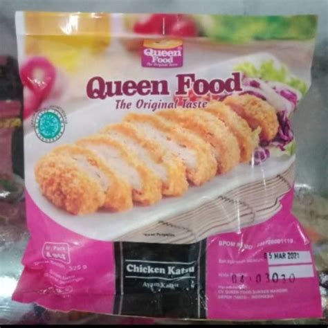 frozen food bandung queen food egg chicken roll
