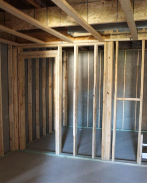 how to frame a room basement framing and soffit planning