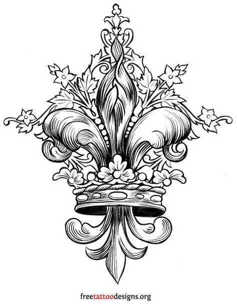 fleur de lis tattoo design tattoos and ideas 100 designs
