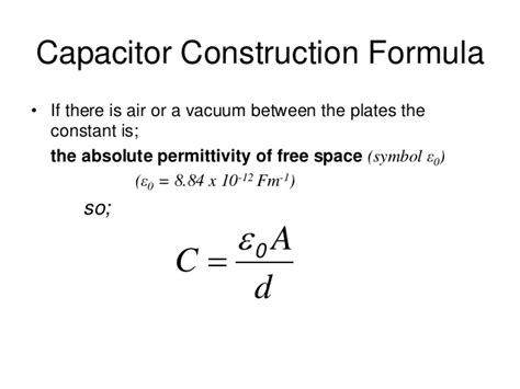 capacitor and dielectric constant capacitors