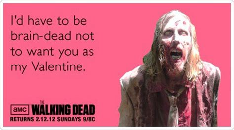 the walking dead valentines day cards walking dead cards reactor