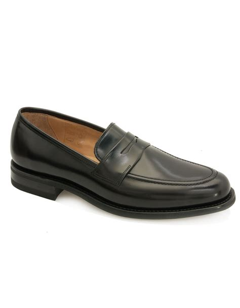 saddle loafers 211b polished saddle loafer black fields menswear