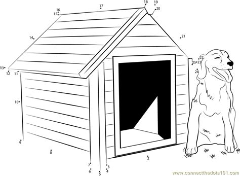 diy heated dog house connect the dots diy heated dog house architecture gt dog house dot to dots for kids