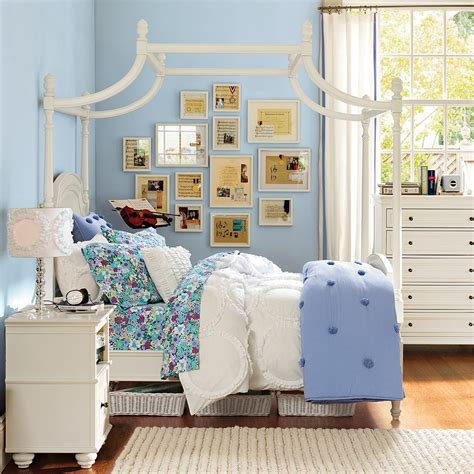 teenage bedroom furniture with desks pottery barn teen girls rooms