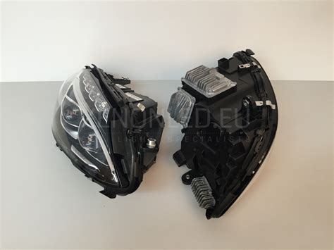mercedes led headlights mercedes benz c class w205 2013 full led headlights
