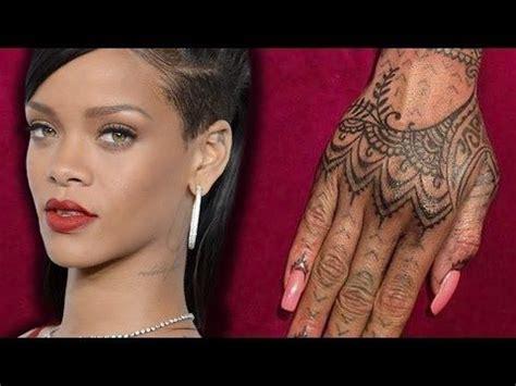 henna tattoos cultural appropriation rihanna debuts new henna
