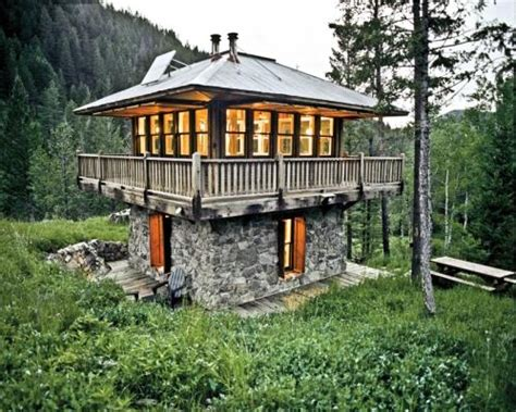 fire tower house fire tower cabin small homes and cabins pinterest