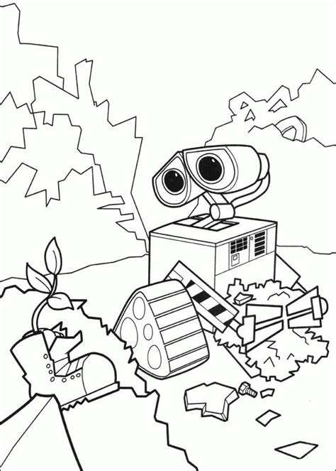 wall e coloring pages coloring page wall e coloring pages 54