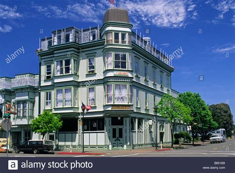 the eagle house the victorian eagle house inn old town eureka humboldt county stock photo royalty