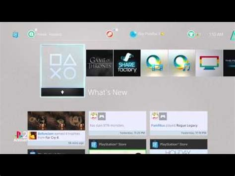 ps4 themes 20th anniversary sony unveils free ps vita ps3 and ps4 20th anniversary