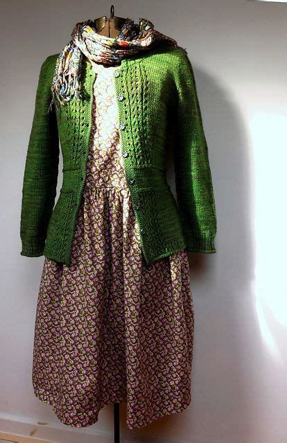 The Handmade Dress - 25 best ideas about green cardigan on navy