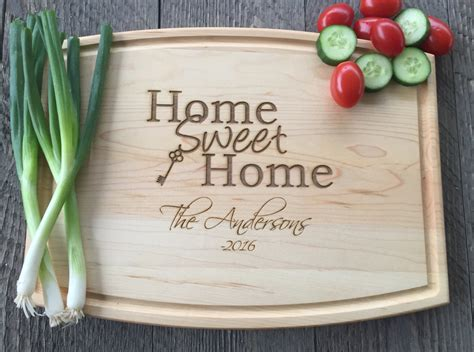 best housewarming gifts for first home your home idea cutting board realtor closing gift home sweet home cutting