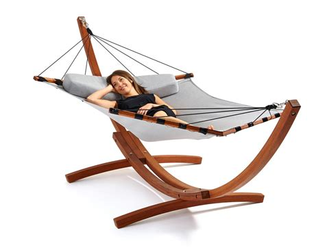 A Hammock Get Out Modern Hammocks From Lujo Design Milk