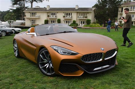 bmw concept live photos of bmw concept z4 at pebble