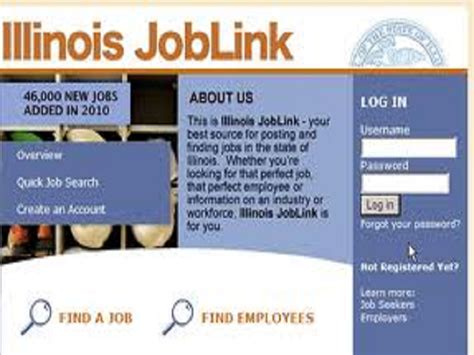 illinois department of employment security ides home search ides touts on line job site 101 9 the wolf