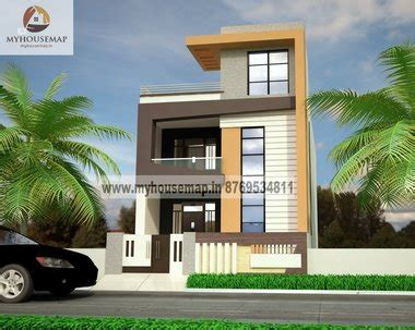 design home elevation online exterior front elevation design house map building design