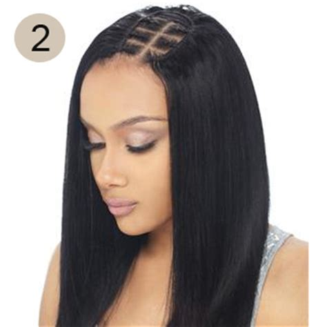 photo of invisible part in hair weave hair weave styles with invisible part triple weft hair