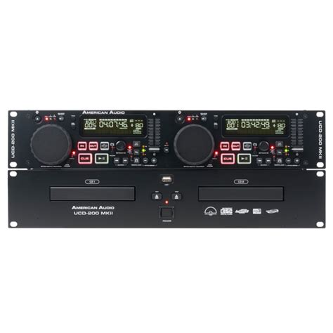 Rack Mount Mp3 Player by 19 Inch Rack Mount Dual Cd Mp3 Player With Easy To Use