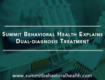 Summite Behavioral Health Detox by Explains What Is Dual Diagnosis Co Occurring