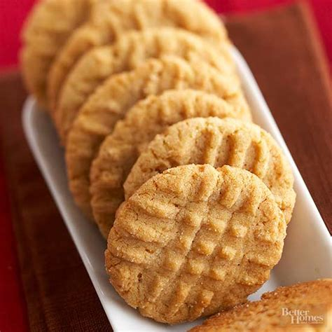 peanut butter biscuits peanut butter cookies