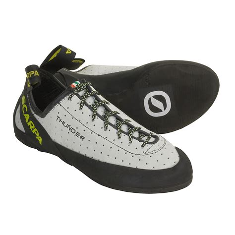 shoes for climbing scarpa thunder climbing shoes for 2337j save 72