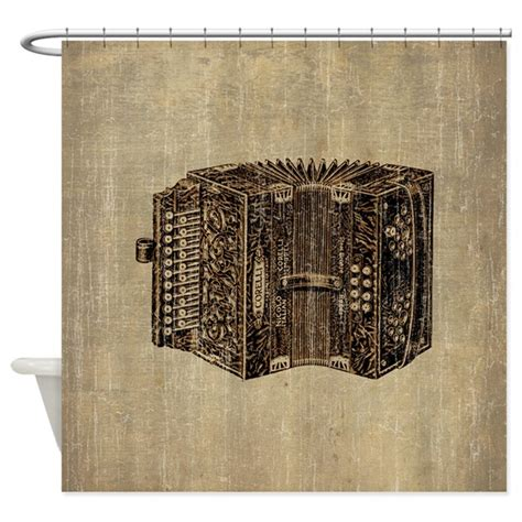 accordion curtain vintage accordion shower curtain by pixel gear