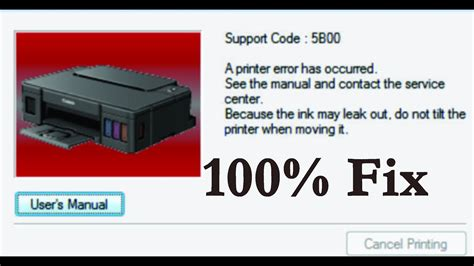 resetter printer g2000 cannon g series g1000 g2000 g3000 g4000 5b00 error fix