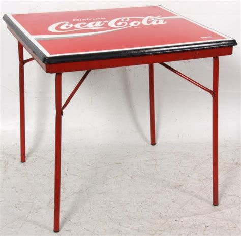 Coca Cola Table And Chairs by Coca Cola Advertising Table Chairs Lot 285