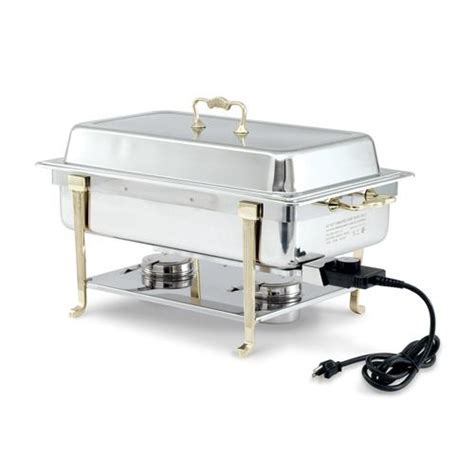Dining Room Equipment by Vollrath 46040 Electric Chafer W Side Receptacle