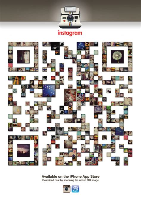 instagram layout code the best uses of qr codes in design